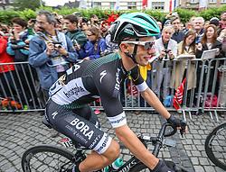 02.07.2017, Duesseldorf, GER, Tour de France, 2. Etappe von Düsseldorf (GER) nach Lüttich (BEL/203 km), im Bild MAJKA Rafal (POL, Team Bora-hansgrohe) // Rafal Majka of Poland during Stage 2 from Duesseldorf (GER) to Luettich (BEL/203 km) of the 2017 Tour de France in Duesseldorf, Germany on 2017/07/02. EXPA Pictures © 2017, PhotoCredit: EXPA/ Martin Huber