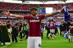 May 27, 2019 - London, England, United Kingdom - Tyrone Mings (40) of Aston Villa during the Sky Bet Championship match between Aston Villa and Derby County at Wembley Stadium, London on Monday 27th May 2019. (Credit: Jon Hobley | MI News) (Credit Image: © Mi News/NurPhoto via ZUMA Press)