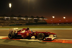 12.11.2011, Yas-Marina-Circuit, Abu Dhabi, UAE, Grosser Preis von Abu Dhabi, im Bild Fernando Alonso (ESP),  Scuderia Ferrari . // during the Formula One Championships 2011 Large price of Abu Dhabi held at the Yas-Marina-Circuit, 2011/11/12. EXPA Pictures © 2011, PhotoCredit: EXPA/ nph/ Dieter Mathis..***** ATTENTION - for Austria Media usage only! *****