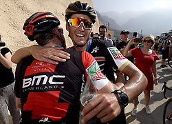 February 15, 2018 - Muscat, Oman - VAN AVERMAET Greg (BEL) of BMC Racing Team during stage 3 of the 9th edition of the 2018 Tour of Oman cycling race, a stage of 179.5 kms between German University of Technology and Wadi Dayqah Dam on February 15, 2018 in Muscat, Sultanate of Oman, (Credit Image: © Panoramic via ZUMA Press)