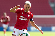 Bristol City's Captain Andreas Weimann (14) during the EFL Cup match between Bristol City and Exeter City at Ashton Gate, Bristol, England on 5 September 2020.