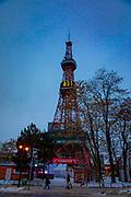 TV Tower, Odori Park , Sapporo, Hokkaido, Japan