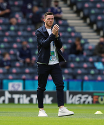 Scotland's Andrew Robertson ahead of the UEFA Euro 2020 Group D match at Hampden Park, Glasgow. Picture date: Monday June 14, 2021.