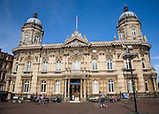 Maritime museum in central Hull, Yorkshire, England