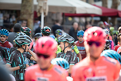 Cecilie Uttrup Ludwig (DEN) of Bigla Pro Cycling Team waits for the start of the Amstel Gold Race - Ladies Edition - a 126.8 km road race, between Maastricht and Valkenburg on April 21, 2019, in Limburg, Netherlands. (Photo by Balint Hamvas/Velofocus.com)