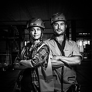 Construction workers.<br /> Photo © Daniel Roos 2020.