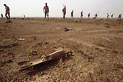 Kuwait: Magwa oil field, British explosive ordnance disposal, Rockeye submunition..