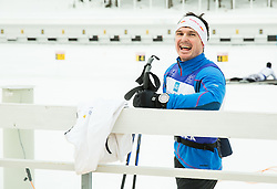 Peter Kauzer of Slovenian Kayak Canoe National Team at Winter training of Cross country and Biathlon, on January 7, 2015 in Rudno polje, Pokljuka, Slovenia.  Photo by Vid Ponikvar / Sportida