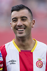 August 15, 2017 - Girona, Spain - Portrait of Borja Garcia  from Spain of Girona FC  during the Costa Brava Trophy match between Girona FC and Manchester City at Estadi de Montilivi on August 15, 2017 in Girona, Spain. (Credit Image: © Xavier Bonilla/NurPhoto via ZUMA Press)