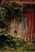 Autumn Barn Door by Darren Elias