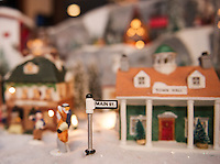 Christmas Village 2015.  Karen Bobotas Photographer