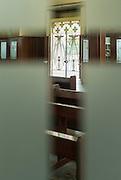 Interior of Korogaga Church, Rabaul, East New Britain, Papua New Guinea