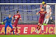 Foto Fabio Rossi/AS Roma/LaPresse<br /> 17/12/2020 Roma (Italia)<br /> Sport Calcio<br /> Roma-Torino<br /> Campionato Italiano Serie A TIM 2020/2021 - Stadio Olimpico<br /> Nella foto: Ibanez, Belotti<br /> <br /> Photo Fabio Rossi/AS Roma/LaPresse<br /> 17/12/2020 Rome (Italy)<br /> Sport Soccer<br /> Roma-Torino<br /> Italian Football Championship League Serie A Tim 2020/2021 - Olimpic Stadium<br /> In the pic: Ibanez, Belotti