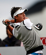 Danny Lee (NZL) tees off during Round One of the NZPGA. Round One, HSBC New Zealand PGA Golf Championship. Clearwater Golf Resort, Christchurch, New Zealand. Thursday 5th March 2009. Copyright Photo: www.photosport.co.nz