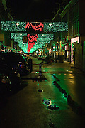 Christmas Lights, Corneliz Hoofstraat, Amsterdam, near Leidseplein