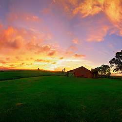 Panoramic photos by jaydon cabe. This was taken at Cabbage Tree Point, Amazing sunset and awesome features of this location