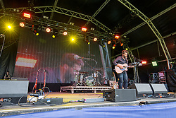 Jimmy Nolan opens the main stage. Saturday at Party at the Palace 2017, Linlithgow.