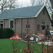 Woning Richard Krajicek en Daphne Deckers aan de Brink Muiderberg, bouw gastenverblijf