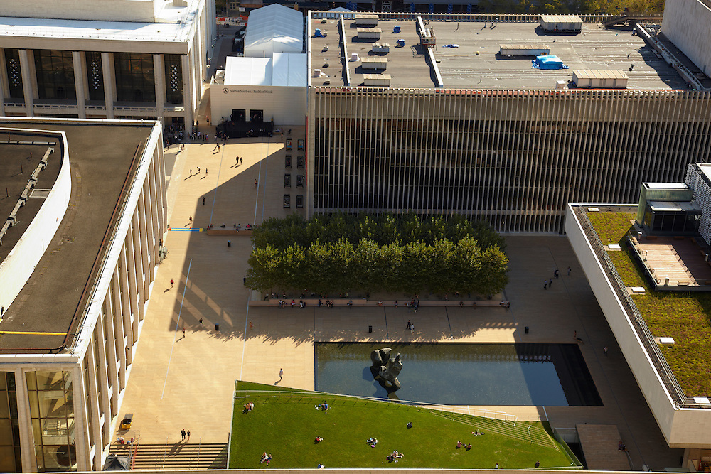 View of Lincoln Center from 1965 Broadway, Penthouse