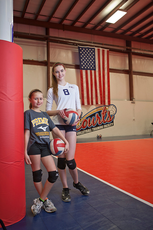 09 February 2012- The Courts, vollyball facility is photographed in Omaha, Nebraska.