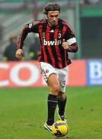 """Paolo Maldini (Milan)<br /> Milano 07/12/2008 Stadio """"Giuseppe Meazza"""" <br /> Campionato di Calcio Serie A 2008/2009<br /> Milan-Catania (1-0)<br /> Foto Noe Insidefoto"""