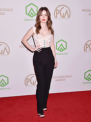 31st Annual Producers Guild Awards at the Hollywood Palladium on January 18, 2020 in Los Angeles, California. 18 Jan 2020 Pictured: Kaitlyn Dever. Photo credit: Jeffrey Mayer/JTMPhotos, Int'l. / MEGA TheMegaAgency.com +1 888 505 6342