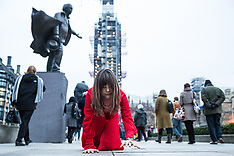 2019-01-19 Crawling woman in a red dress