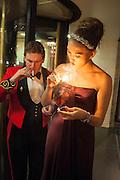MATTHEW TRAVERS; CELINA D'ABO, The Royal Caledonian Ball 2013. The Great Room, Grosvenor House. Park lane. London. 3 May 2013.