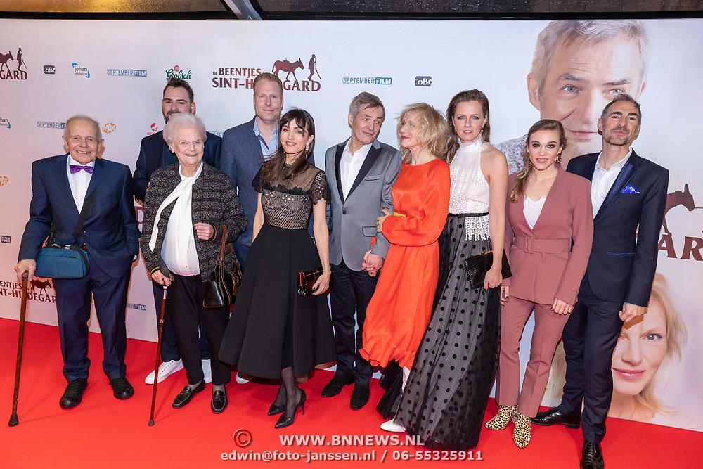 NLD/Amsterdam/20200210 -  inloop Premiere  De beentjes van Sint-Hildegard, Annie Beumers