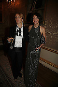 Sam Taylor Wood and Annabel Neilson, Ark Gala Dinner, Marlborough House, London. 5 May 2006. ONE TIME USE ONLY - DO NOT ARCHIVE  © Copyright Photograph by Dafydd Jones 66 Stockwell Park Rd. London SW9 0DA Tel 020 7733 0108 www.dafjones.com