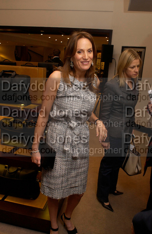 Emily Oppenheimer. Olivier Widmaier Picasso's book launch for Picasso: The Real Family Story.  Co-hosted by dunhill CEO Simon Critchell and Prestel Publishing -  Dunhill, 48 Jermyn Street, London, SW1, 6.30-8.30pm. ONE TIME USE ONLY - DO NOT ARCHIVE  © Copyright Photograph by Dafydd Jones 66 Stockwell Park Rd. London SW9 0DA Tel 020 7733 0108 www.dafjones.com