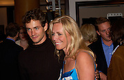 Hugh Dancy and Kiera Parks, Alfred Dunhill, U.K. Film Council and Vanity Fair host party to celebrate portraits by David Bailey. dunhill, Jermyn St. 28 September 2004. SUPPLIED FOR ONE-TIME USE ONLY-DO NOT ARCHIVE. © Copyright Photograph by Dafydd Jones 66 Stockwell Park Rd. London SW9 0DA Tel 020 7733 0108 www.dafjones.com