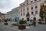 Enns city centre. Upper Austria, Austria