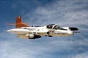 Edwards test T-37 Tweet in A-37<br /> configuration (ground attack)