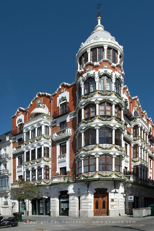 apartment buildings Valladolid spain castile and leon