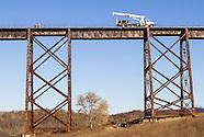 Moodna Viaduct railroad work