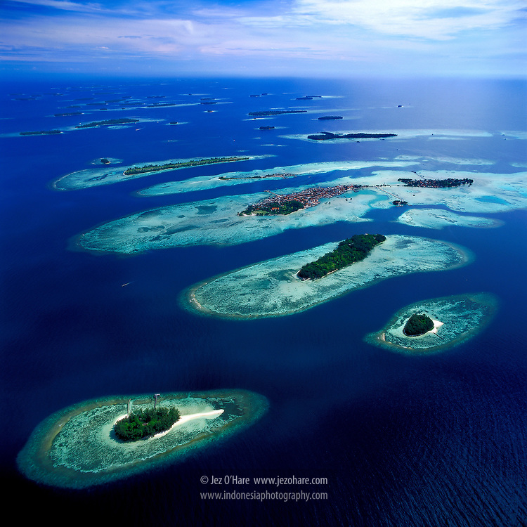 Pulau Seribu (Thousand Islands), Jakarta, Indonesia.