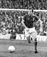 Fotball<br /> England <br /> Foto: Colorsport/Digitalsport<br /> NORWAY ONLY<br /> <br /> Mick Mills - Ipswich Town. Ipswich Town v Wolverhampton Wanderers, 29/1/77