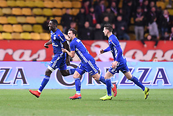 January 19, 2019 - Monaco, France - 18 IBRAHIMA SISSOKO (STRA) - 04 PABLO MARTINEZ (STRA) - JOIE (Credit Image: © Panoramic via ZUMA Press)