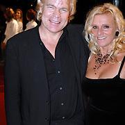 NLD/Hilversum/20061201 - Opening Nederlands Instituut voor Beeld en Geluid, Ruud Bernard en partner Annet Stokkentreef