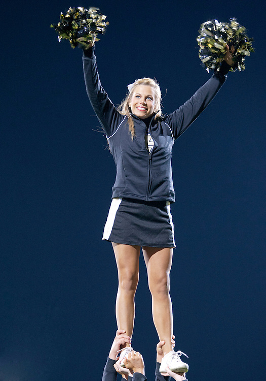 October 01, 2011:  Purdue dance team member performs during NCAA Football game action between the Notre Dame Fighting Irish and the Purdue Boilermakers at Ross-Ade Stadium in West Lafayette, Indiana.  Notre Dame defeated Purdue 38-10.