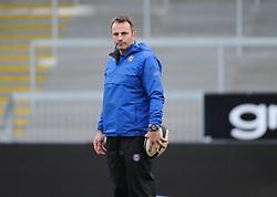 Bath Academy Head Coach Daniel Grewcock.   - Mandatory byline: Alex Davidson/JMP - 07966386802 - 30/01/2016 - RUGBY - Sandy Park -Exeter,England - Exeter Chiefs u18's v Bath Rugby u18's - U18 League