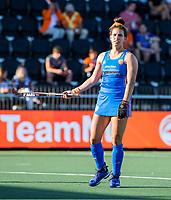 AMSTELVEEN - Frederique Matla (Ned)  tijdens dames hockeywedstrijd , Spanje-Nederland  (1-7),  bij het EK hockey. Euro Hockey 2021.   COPYRIGHT KOEN SUYK