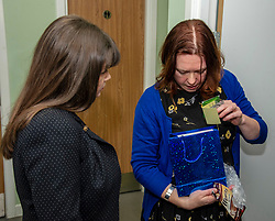 Pictured: Clare Haughey and Sam Anderson, director at The Junction during a tour of the facilities<br /><br />Mental Health Minister Clare Haughey visisted the Junction in Edinburgh today to announce extra funding for young people mental health staff.  The Junction centre provides care and support to young people from north Edinburgh. Ms Haughey announced funding for Child and Adolescent Mental Health Services (CAMHS) <br /><br />Ger Harley  EEm 19 December 2018