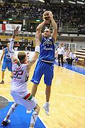 Trieste 8 Settembre 2012 Qualificazioni Europei 2013 Italia Bielorussia<br /> Foto Ciamillo<br /> Nella foto : marco cusin