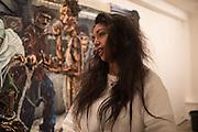 RAQUEL VAN HAVER, Private view: Raquel van Haver at Jack Bell Gallery | Masons Yd. London.  22 March 2016