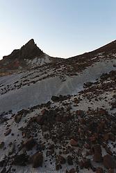 Volcanic tuff near Tuff Canyon, Big Bend National Park, Texas, USA.