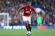 Luis Antonio Valencia of Manchester United in action. Premier league match, Chelsea v Manchester Utd at Stamford Bridge in London on Sunday 23rd October 2016.<br /> pic by John Patrick Fletcher, Andrew Orchard sports photography.