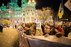 6 December 2019, Madrid, Spain: Thousands upon thousands of people march through the streets of central Madrid as part of a public contribution to the United Nations climate meeting COP25, urging decision-makers to take action for climate justice.