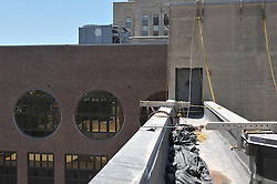 Construction Progress Photography of New Haven Courthouse Roof Replacement and Masonry Repairs. Project No: BI-JD-316A Section 01 32 33